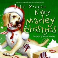 A Very Marley Christmas by John Grogan (English) Hardcover Book Free Shipping!