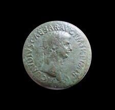ROME IMPERIAL SESTERTIUS 41 - 54 AD CLAUDIUS CAESAR RIC 115 #6102#