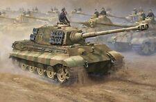 Trumpeter 00910 - 1:16 German King Tiger 2 in 1 - Neu