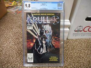 Krull 1 cgc 9.8 Marvel 1983 movie adaptation MINT WHITE pgs star wars leia luke