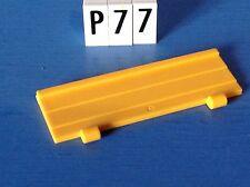(P77) playmobil piéce vehicule ridelle remorque tracteur