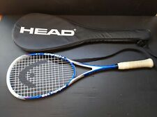 Head Metallix 140 Squash Racquet with Carry Case