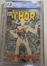 Thor #169 CGC 7.5 Classic Galactus Story 1969