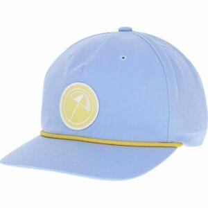 Puma N1AP Arnold Palmer AP Rope 110 Leather Strap Hat Cap Halogen Blue #75587