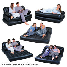 BESTWAY 5 in 1 INFLATABLE DOUBLE SOFA LOUNGER COUCH AIRBED MATTRES SOFABED FAST