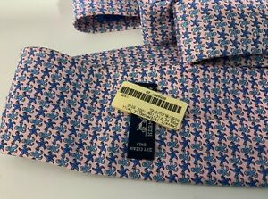 Hermes Cheval Geometric Style  tie NEW WITH TAGS