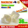 OZ Heavy Duty Packing Packaging Sticky Sealing Tape Shipping Box Carton 75m 48mm
