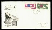DR WHO 1965 CAYMAN ISLANDS FDC INTL TELECOMMUNICATION UNION CENTENARY C236090