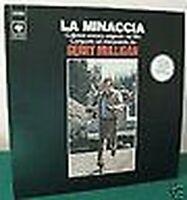Gerry Mulligan: Lp- Minaccia-Col.sonora Orig.italy