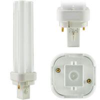 Lampada fluorescente compatta PHILIPS PL-C 2P G24D1 2 pins 10 watt vari Kelvin