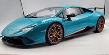 AutoArt - Lamborghini Performante - Solid Blue w/ Gold Wheels Rare(12077) - 1/12