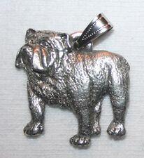 BULLDOG English Bull Dog Harris Fine Pewter Pendant USA Made