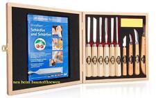 Kirschen Kerbschnitzsatz mit Holzkasten 11teilig 3442 HK