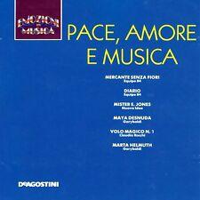 CD EMOZIONI IN MUSICA (De Agostini  IT 971/72) - PACE, AMORE E MUSICA