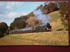 POSTCARD SR LN 4--6-0 LN CLASS LOCO NO 850 'LORD NELSON' PASSING CASTLE HILL  WE