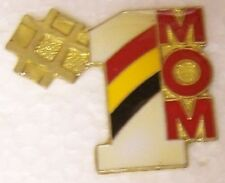 Hat Lapel Pin humorous Number One Mom NEW