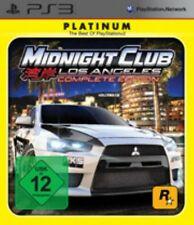 PlayStation 3 Midnight Club 4 los angeles complete alemán guterzust.