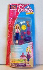 "Mega Bloks BARBIE Pack 80202 PUPPY PALS BARBIE 23 Pieces Including 1 x 2"" Doll"