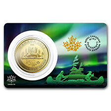 PRE SALE 9/22 - 2017 RCM 1 oz Gold $150 Canada 150 Voyageur (Assay Card)