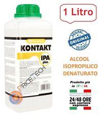 ALCOOL ISOPROPANOLO ISOPROPILICO PURO PER ULTRASUONI LAVATRICE SCHEDE PCB