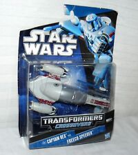 Star Wars Transformers Crossovers Captain Rex To Freeco Speeder Spaceship