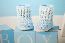 Baby's Bootees Crochet Pattern