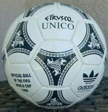 Adidas World Cup 1990 Italy Etrusco Unico Match Soccer ball Size 5