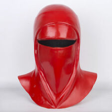 Star Wars Imperial Guard Helmet Cosplay Royal Guard Red Latex Mask Handmade Prop