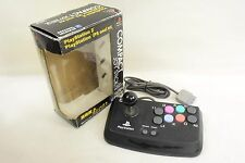 PS2 Controller COMPACT JOY STICK Clear Black Boxed Playstation 2 PS Tested 1873