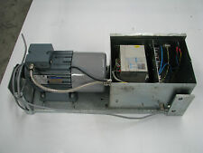 VEM Electric Motor 1.1kW 3 Phase with Variable Speed PLC Controller Conveyor