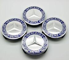 4x Wheel Emblem Hub Center Caps Badge Logo 75mm For Mercedes Benz 1714000025 New