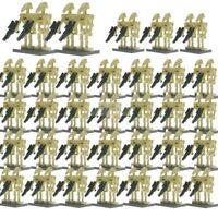 100 Stück Star Wars Minifiguren Figur Droiden Armee Action Figuren Film episode