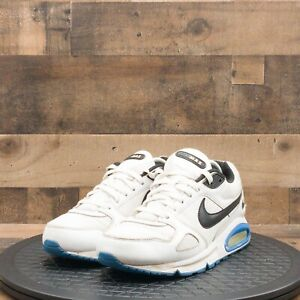 Nike Air Max 2010 Mens Athletic Shoes Running Training White Leather Size 8.5