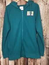 Men's ANALOG Sweatshirt Hoodie Snowboard Green Casual Zip-Up Sz L Large