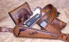 Custom Leather Work Tooling decorating craft belt saddle 10 Books Wallet CD DVD