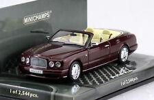 Bentley Azure 2006 rot 1:43 Minichamps Modellauto 436139560