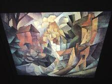 "Jean Metzinger ""cubist Landscape"" Fauvism French Art 35mm Glass Slide"