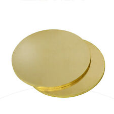 H62 Brass Round Discs Sheet Flat Plate Φ50~Φ200mm Dia, Multiple sizes available