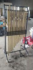 """Musser M665 Chimes 1.5"""" Brass Tubes Bells"""