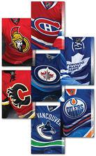 Hockey CANADIAN NHL TEAMS set 7 POSTCARDS = SEALED Canada 2013