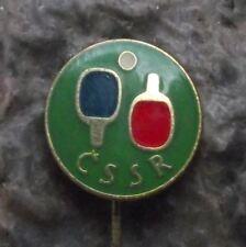 Czech Republic Modern Table Tennis Ping Pong Association Club Members Pin Badge