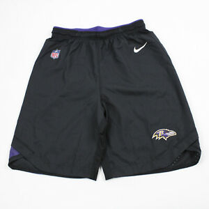 Baltimore Ravens Nike Dri-Fit Athletic Shorts Men's Black New without Tags