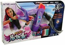 Nerf Rebelle Secrets And Spies Strongheart Bow Purple 100% Brand New