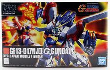 Gundam 1/144 HGUC #110 HGFC G GF13-017NJII God Burning Gundam Model Kit Bandai