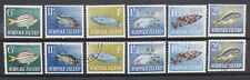 Norfolk Island 1962 Fish set Fine Used & Mint
