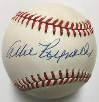 ALLIE REYNOLDS Signed Autographed Baseball Beckett BAS H39606 New York Yankees