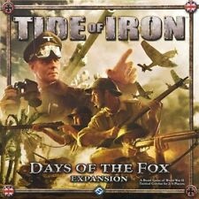 Tide Of Iron WWII Tactical Combat Game: Days of the Fox Expansion FFGTD02