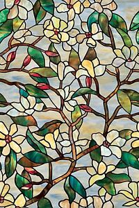 Artscape Summer Magnolia Window Film (24 In. x 36 In.)