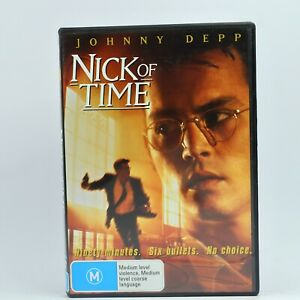 NICK OF TIME Johnny Depp Christopher Walken Courtney Chase DVD R4 GC