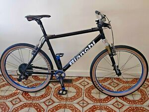 Bianchi Mountain Commuter Bike 26' Race Face Rolf Maxxis Rock Shox Avid Box Two